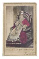 Foto ritratto Papa Pio IX - 1870 ca.