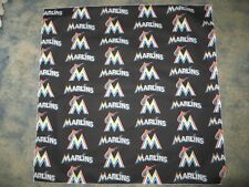 MLB MIAMI MARLINS XL BASEBALL HEAD BANDANA / CHEERING CLOTH APPROX 25""
