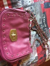 Small Pink New Look Shoulder Bag with Chain Straps
