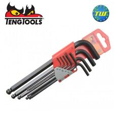 Teng 9pc Ball Ended Point Hex Allen Key Set Metric 1.5-10mm 1479MM