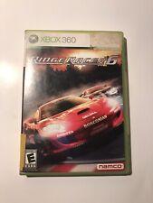 Microsoft Xbox 360 Game Ridge Racer 6 Complete Namco 2005 CIB