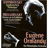 "Tchaikovsky: Symphony No. 6 ""Pathetique""; Modest Mussorgsky: Pictures at an Exh"