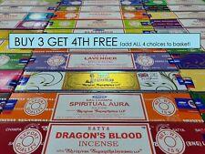 Satya Incense Original Nag Champa 15g Joss Sticks Buy 3 get 1 FREE - mix n match