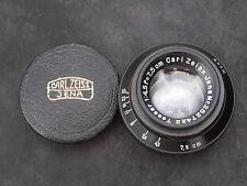 Carl Zeiss Tessar 7.5cmF:4.5 nr.2527422  Sony APS-C m4/3 rds NIKON Canon Bolex