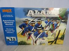 IMEX Alamo Mexican Toy Soldiers w/ Presidio Hats (54MM) 12 in 7 poses