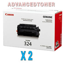 2 x Genuine Canon Cart-324 Toner Cartridges for LBP-6780X,LBP-6750DN Printers