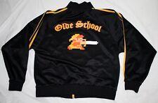 """Zelda Nintendo """"Old School"""" 8-Bit Zip Sweatshirt Track Jacket Size Large"""