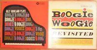 BOOGIE WOOGIE 2 Vinyl LP Record Lot jazz billy rowland meade lux lewis big maceo