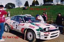 Didier Auriol Toyota Celica Turbo 4WD New Zealand Rally 1993 Photograph 1