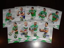 2013 NRL ELITE TEAM SET OF 9 CARDS CANBERRA RAIDERS