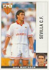JUAN MARTAGON # ESPANA SEVILLA.CF STICKER CROMO PANINI LIGA 1996 ESPANA