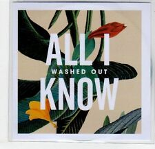(EF330) Washed Out, All I Know - 2013 DJ CD