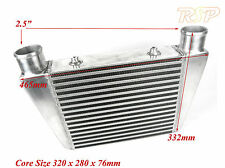 Universal Front/Top Mount Intercooler 465 mm x 332 mm x 76 mm Taille globale
