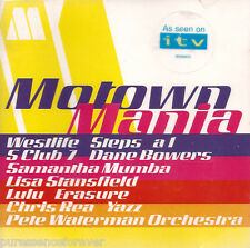V/A - Motown Mania (As Seen On ITV) (UK 12 Track CD Album)