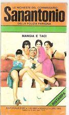 COMMISSARIO SANANTONIO-BERù  # 136-MANGIA E TACI