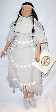 Pocahontas Powhatan Princess Indian Sandy Doll New #1045 LE NIB