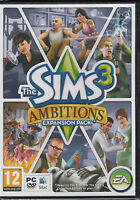 The Sims 3 Ambitions Expansion Pack PC & MAC Brand New Sealed