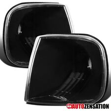 For 1997-2003 Ford F150 Expdition Black Clear Corner Turn Signal Parking Lights