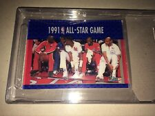 MICHAEL JORDAN 1991 FLEER 3-D WRAPPER REDEMPTION ACRYLIC ALL STAR GAME #233 MINT