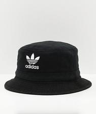 Adidas Originals Cotton Washed Black Summer Bucket Hat