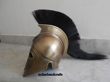 Collectibles Spartan Greek Armour Helmet Corinthian Brass Finish Armour Helmet