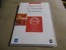 """DVD NEUF """"LE TRIOMPHE DE L'AMOUR - MARIVAUX"""" Michel AUMONT / theatre"""