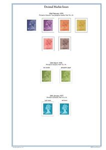 Great Britain 2020 Stamp Album Pages - Colour Illustrated (1,153 pages). PDF DL.