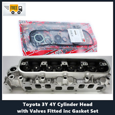 Toyota Hiace Hilux Forklift 3Y 4Y Cylinder Head with Valves Fitted inc Gaskets