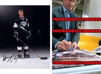 "WAYNE GRETZKY signed Autographed ""LOS ANGELES KINGS"" 8X10 PHOTO c PROOF - LA COA"