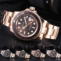 41mm Parnis 21 Jewels Miyota Automatic Movement Men's Watch Water Resistant Date
