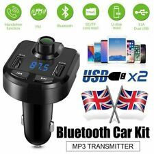 Cigarette Lighter Wireless Bluetooth FM Transmitter For iBerry Auxus Nuclea X