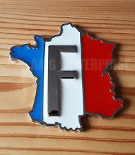 Metal Tricolore France Badge Emblem Sticker for Saab 9-3 9-5 90 900 Aero 9000