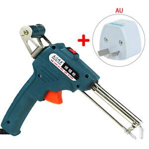 Electric Soldering Iron Temperature Gun Solder Tool Kit Handheld Solder Gun AU