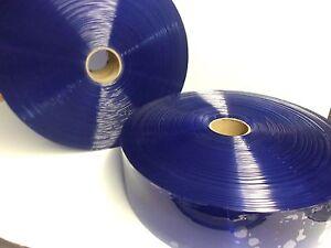 Budget PLASTIC STRIP- PVC STRIP CURTAIN  ROLL Clear 48m x 100mm x 2mm
