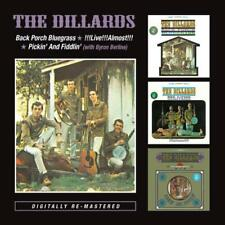 Dillards The - Back Porch / Live / Pickin' Neuf CD