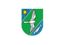 Aufkleber Falkensee Flagge Fahne 12 x 8 cm Autoaufkleber Sticker