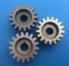 Novak 3-Pack 17T MOD 1 5mm Bore Hardened Steel Pinion Gears