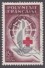 French Polynesia 1963 #205 Red Cross Centenary Issue  - Used
