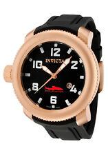 Invicta 1546 Lefty Sea Hunter Swiss Made Rose Gold WR 100M Men's Watch RARE NEW