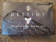 Destiny Collector's Chess Set Brand New domestic damaged box torn plastic