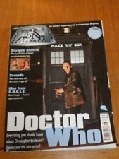 TV ZONE #186 STARGATE ATLANTIS MAN FROM UNCLE DOCTOR WHO UK MAGAZINE =