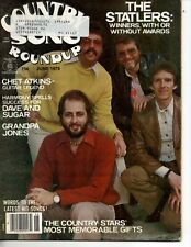Country Song Roundup Magazine Jun 1979 Statler Brothers Chet Atkins Dave & Sugar