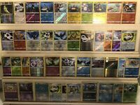 Random Lot Of All Reverse Holo Lot LP-NM Pokemon Cards 🔥 50 Card Lot