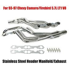 FOR 93-95 CAMARO//FIREBIRD 3.4L V6 T-304 STAINLESS STEEL HEADER//EXHAUST//MANIFOLD