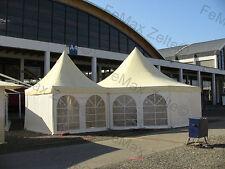 Pagode Zelt Anbau 3,30m x 3,30m / Auch als Anbau an 8eck Zelt