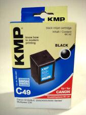 KMP Cartuccia inchiostro c49 Canon bc-20 NERO BJC s100 c30