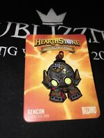 Blizzard Hearthstone Pin 2018 Dr Boom Boombot Blizzcon Gencon World of Warcraft