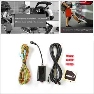 Smart Trunk Opener Sensor System Controller One Free Kick Tail Gate Open Close