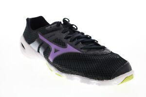 Mizuno Wave Evo Levitas FCLR323B57 Womens Black Mesh Athletic Running Shoes 8