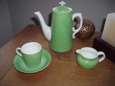 Vintage Crescent George Jones & Son. Mini Coffee pot cup saucer jug, collectable